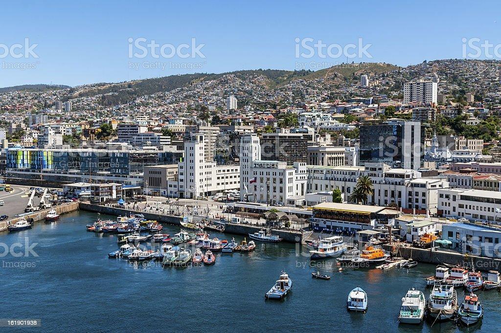 Valparaiso, Chile stock photo
