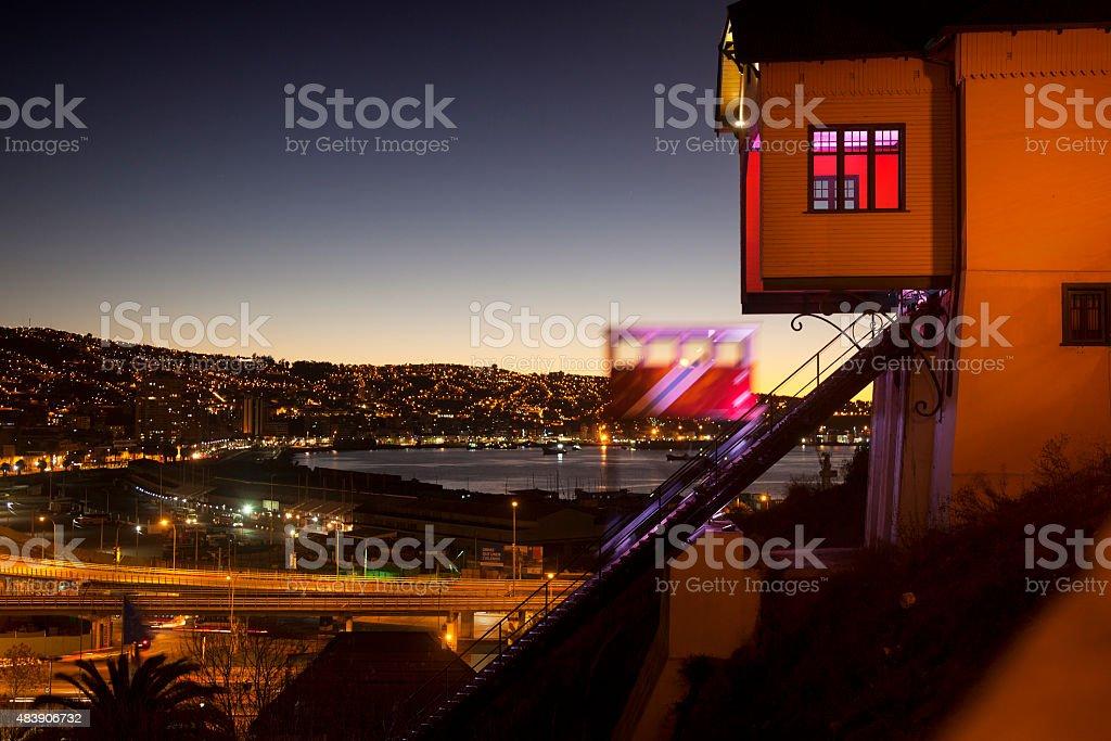 Valpara?so City, Chile stock photo