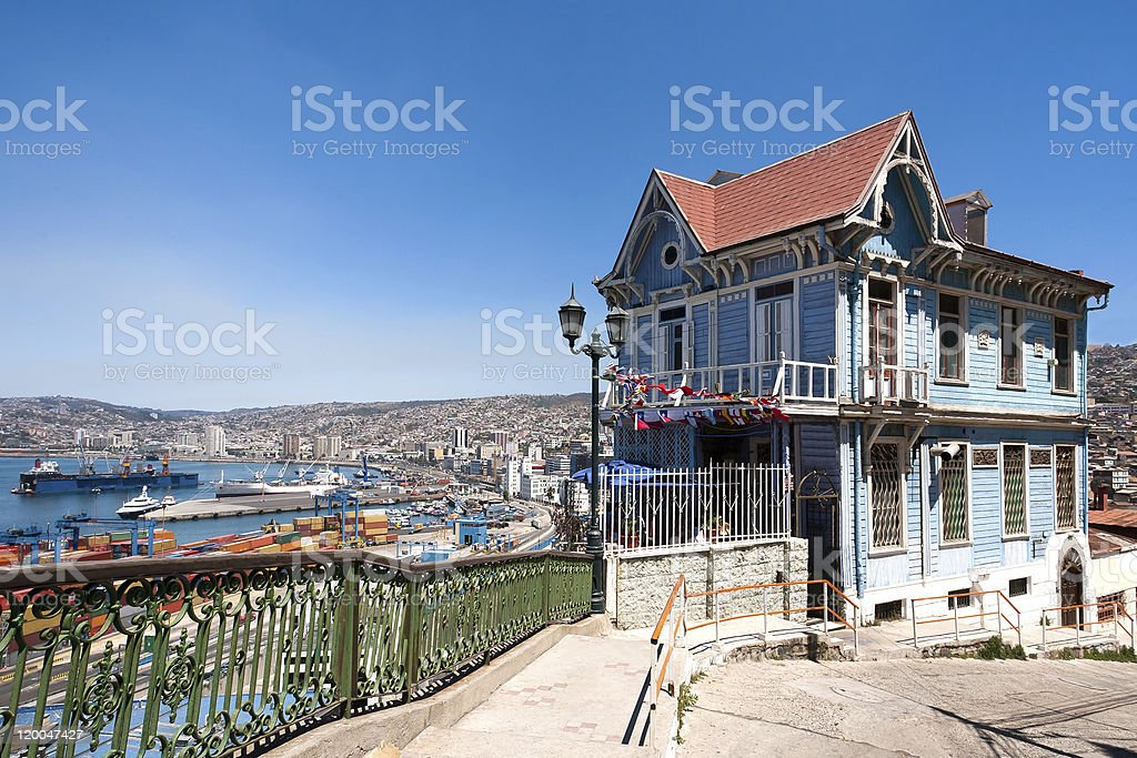 Valparaiso stock photo