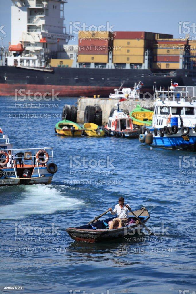 Valparaiso Seaport stock photo