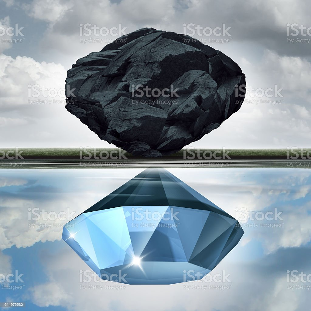 Valuation Vision stock photo