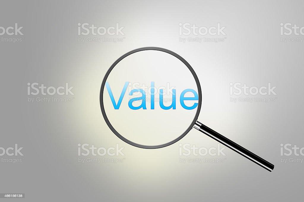 Value stock photo
