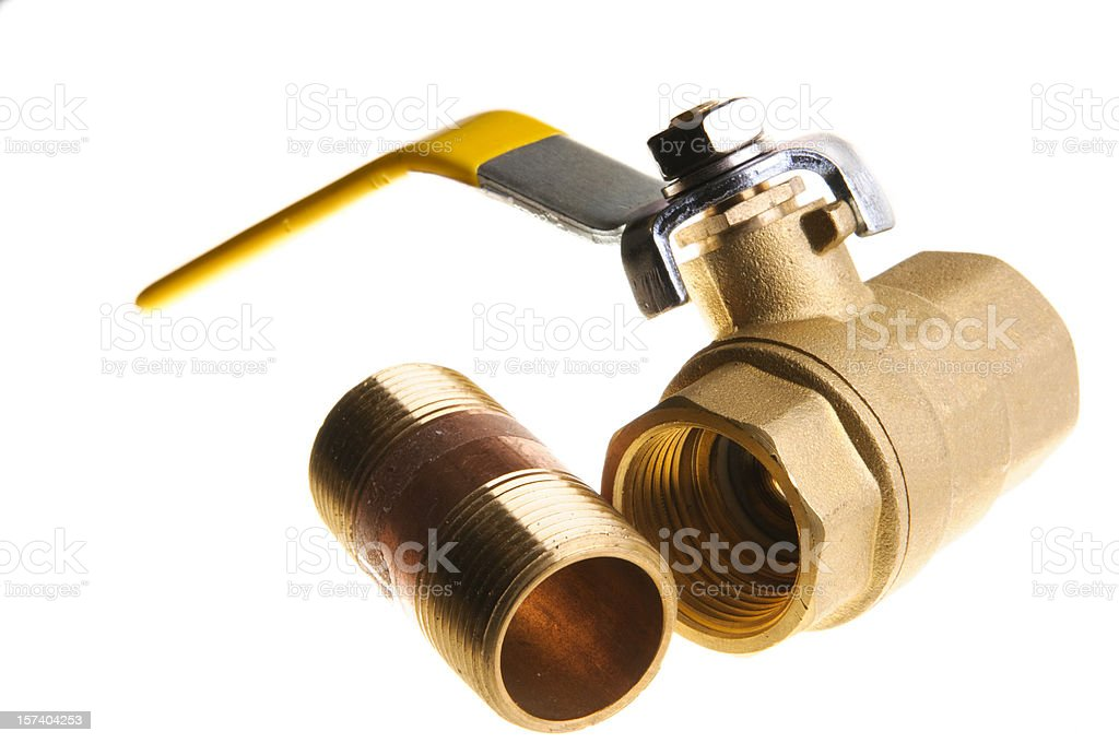 Valve and Fitting royalty-free stock photo