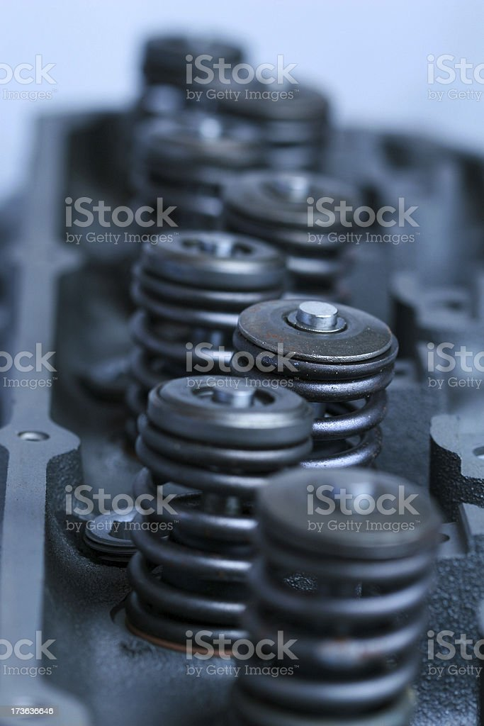 valve springs royalty-free stock photo