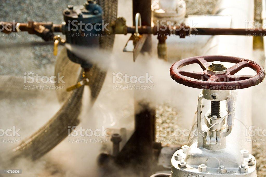 Valve Steam stock photo