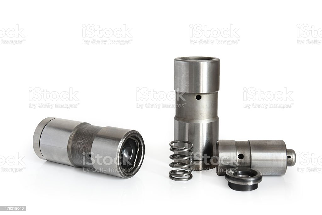 valve tappet stock photo