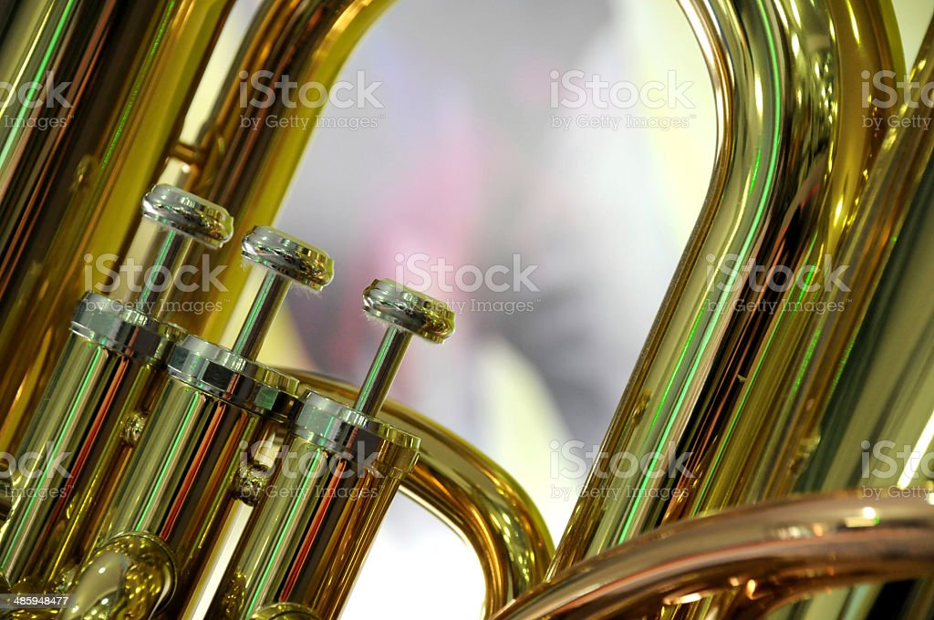valve wind instrument royalty-free stock photo
