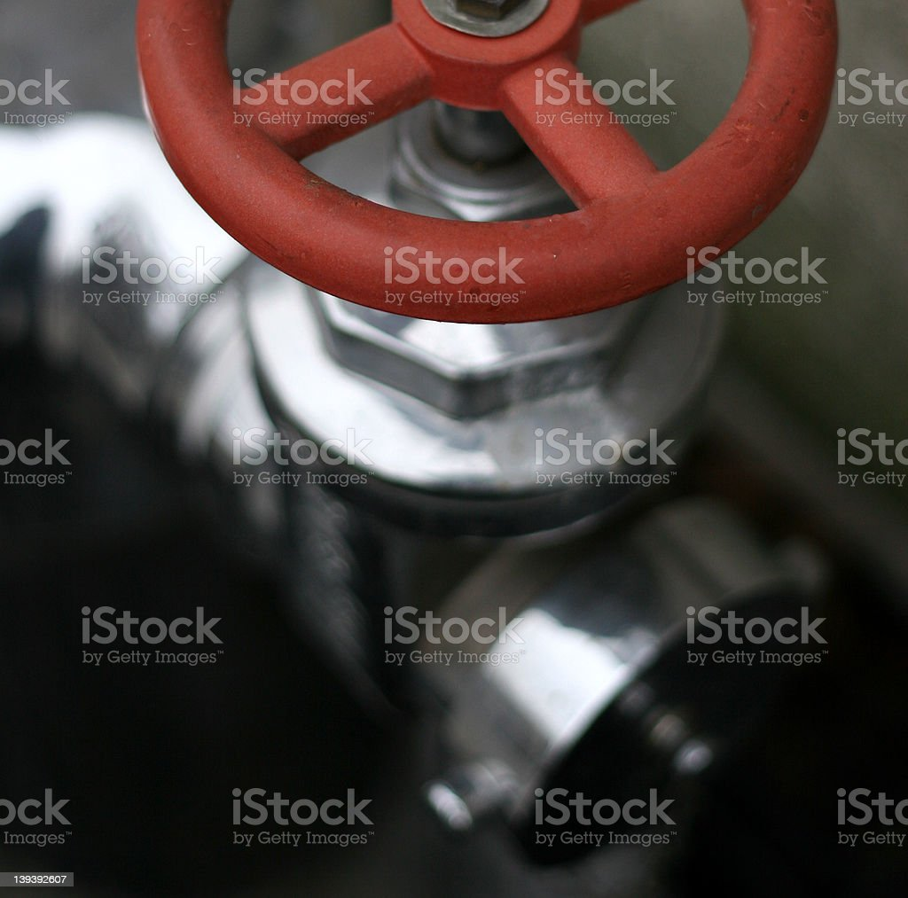 Valve Works royalty-free stock photo