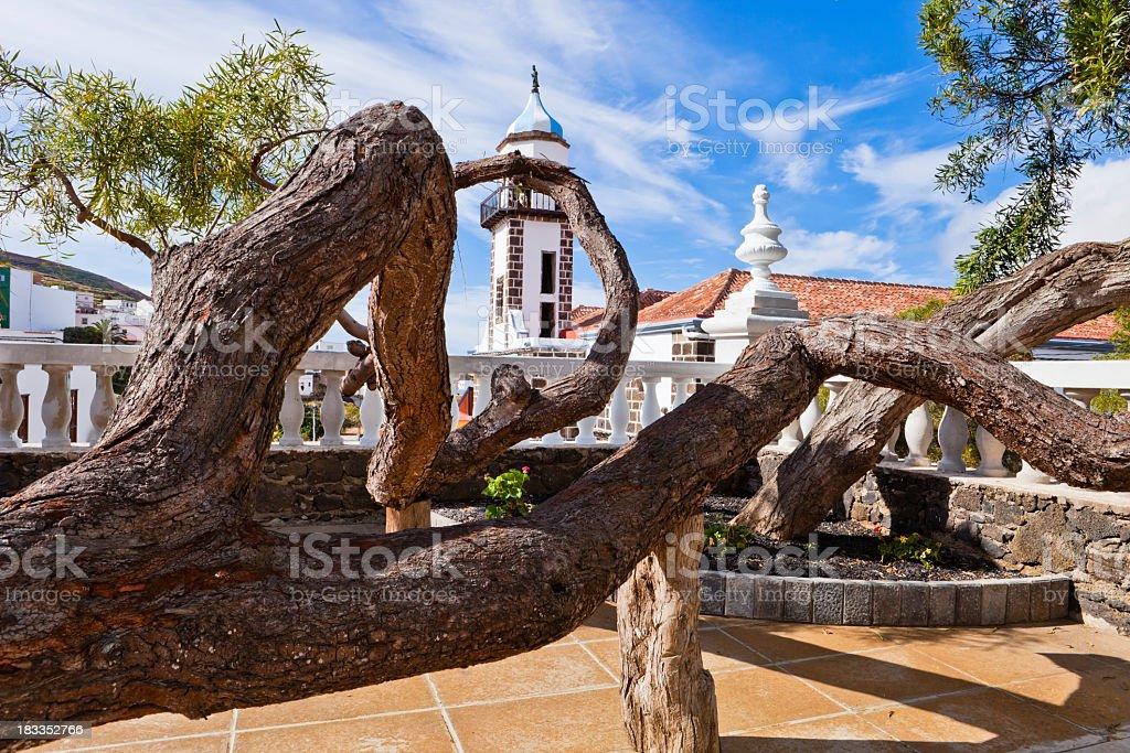 Valverde, El Hierro, Canary Islands stock photo