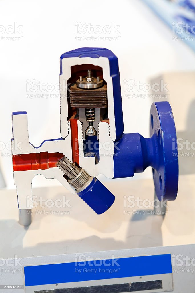 Valves for flow control stock photo