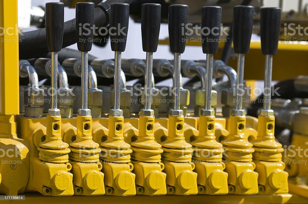Valves stock photo