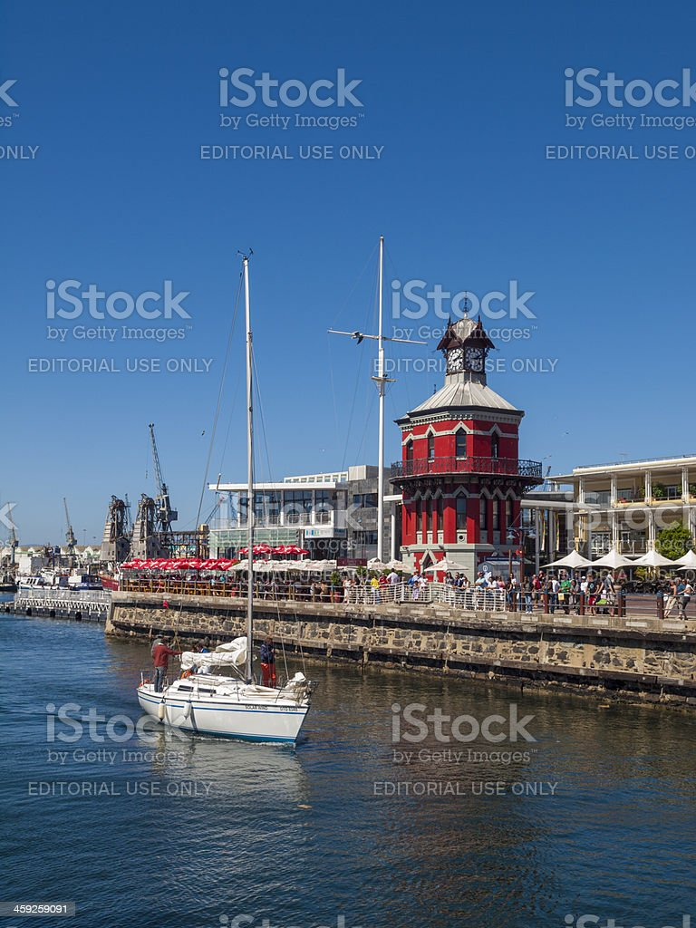 V&A Waterfront Cape Town, South Africa stock photo