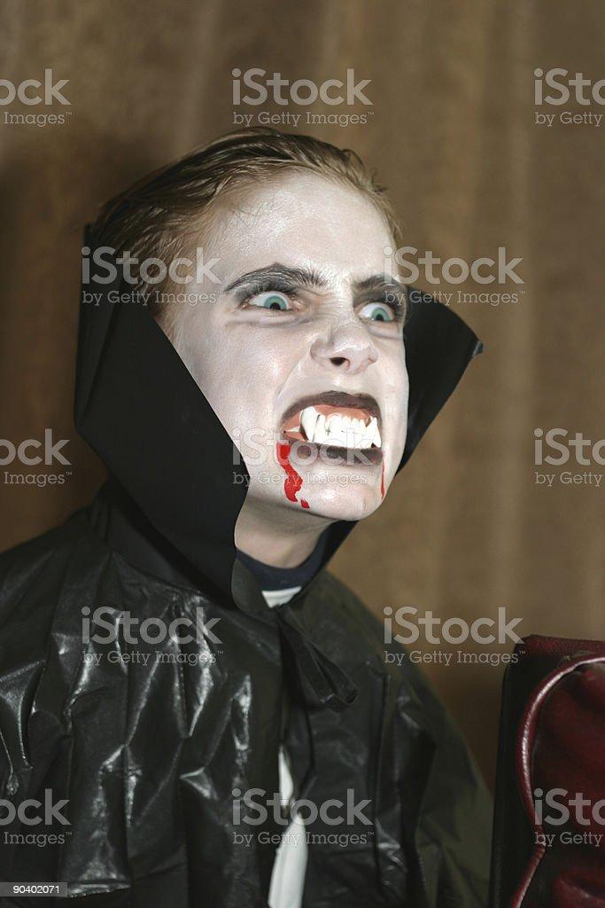 Vampire Actor stock photo