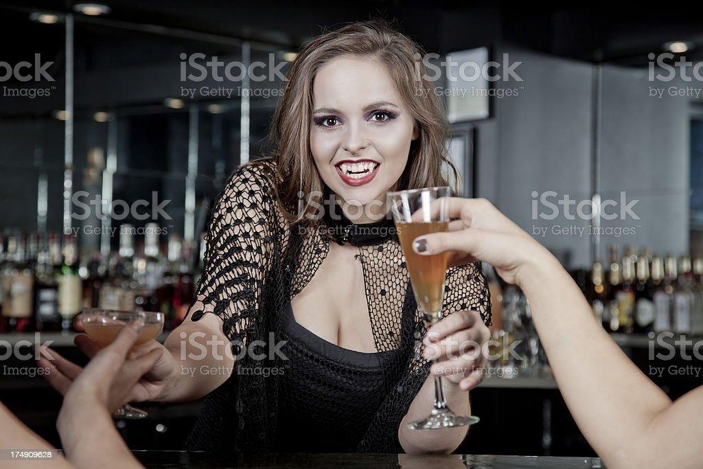 Vampire Bar stock photo