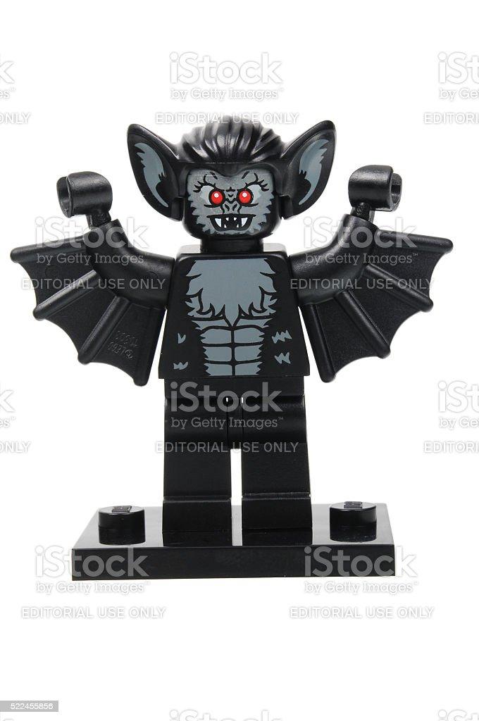 Vampire Bat Lego Series 8 Minifigure stock photo