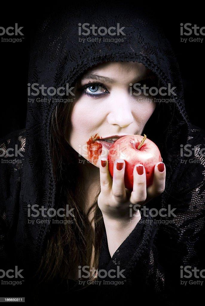 Vampire Beauty stock photo