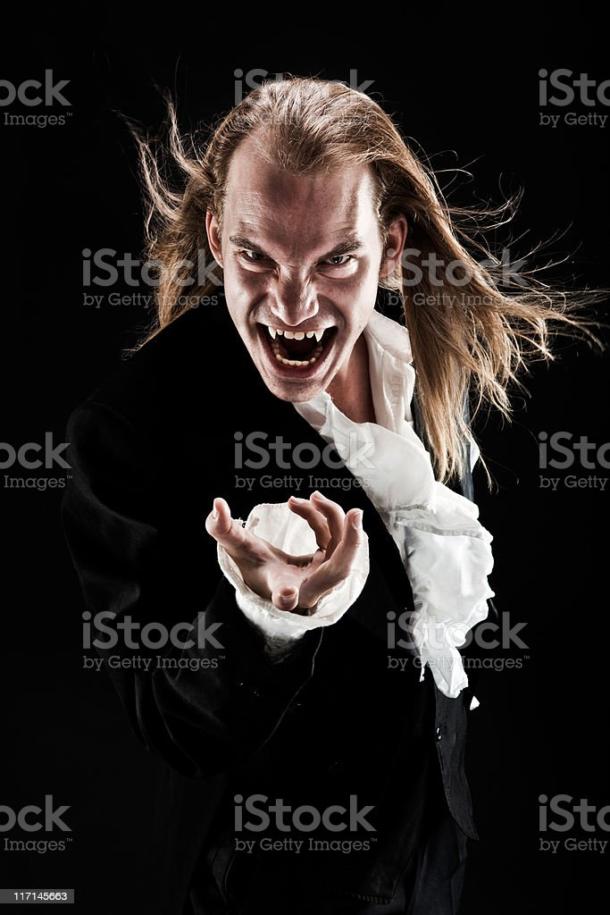 Vampire Beckons royalty-free stock photo