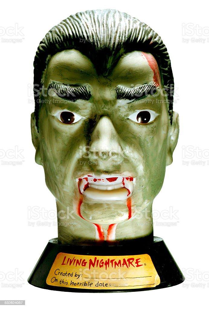 Vampire Head stock photo