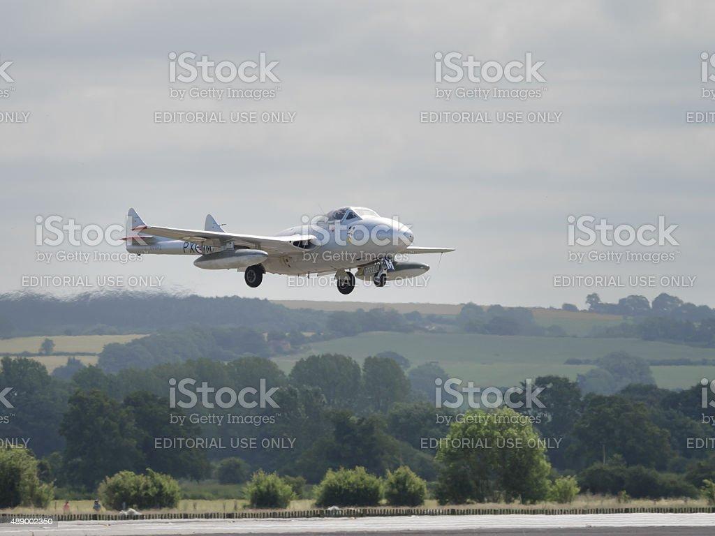 Vampire jet stock photo