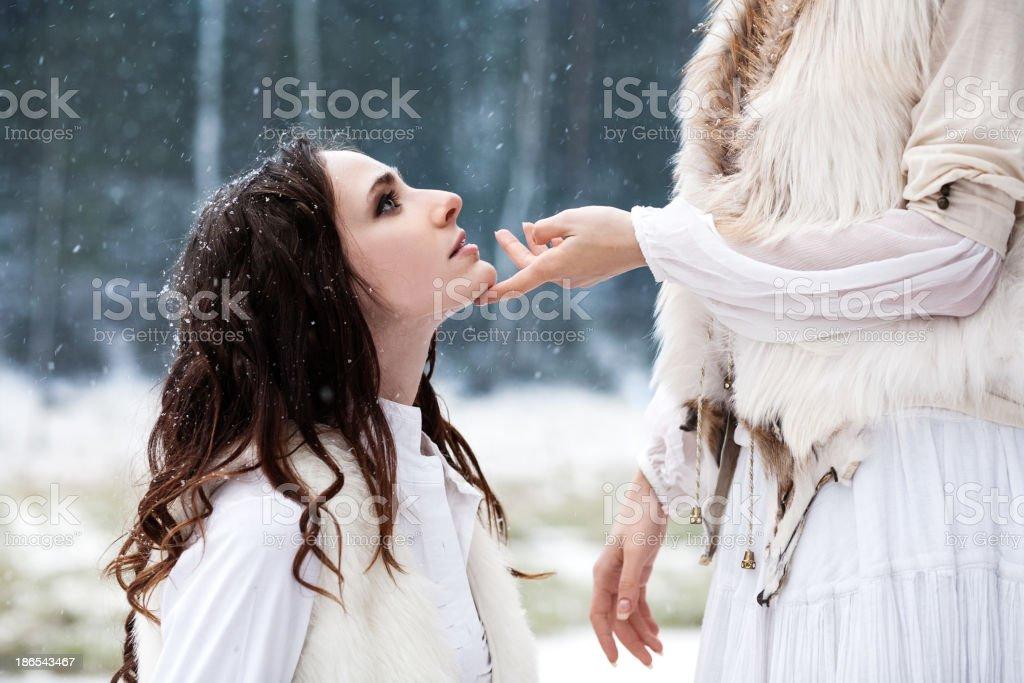 vampire love stock photo