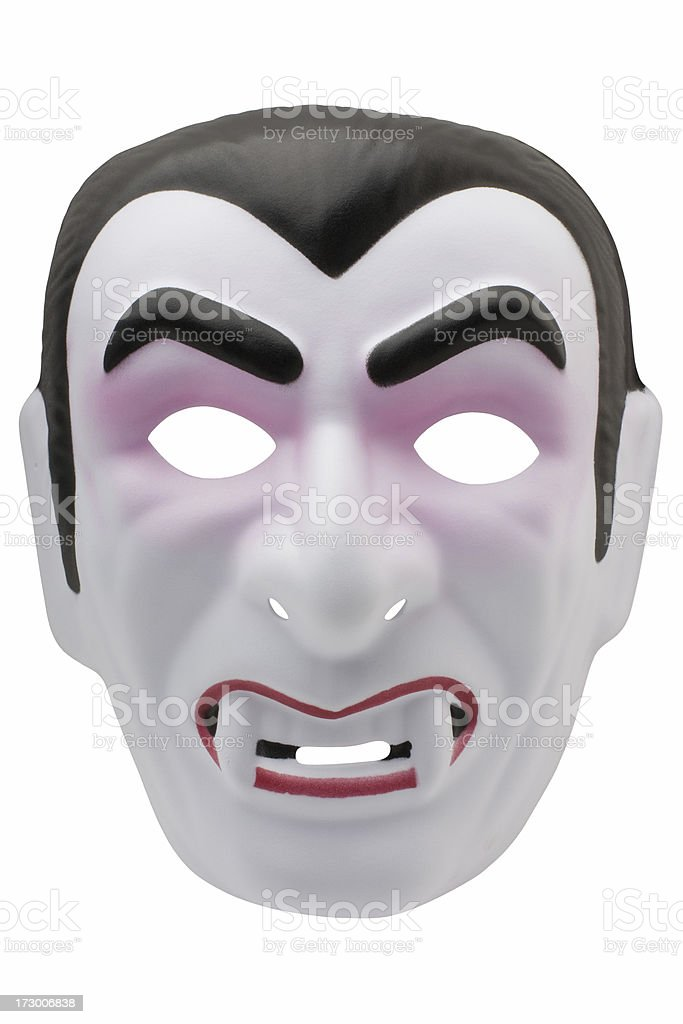 vampire mask (XL) stock photo