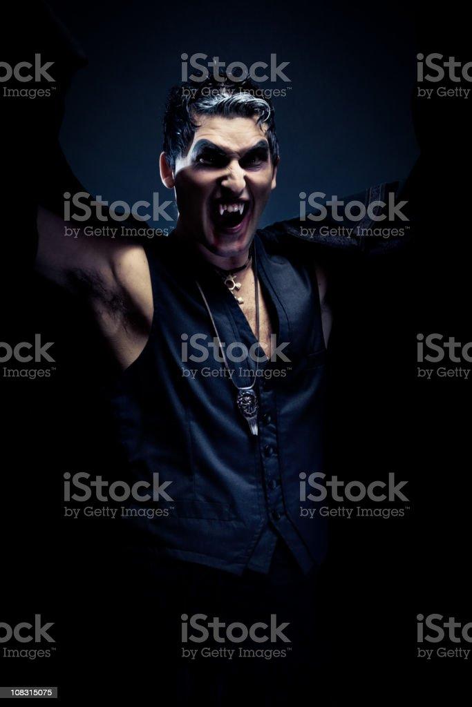 vampire. stock photo