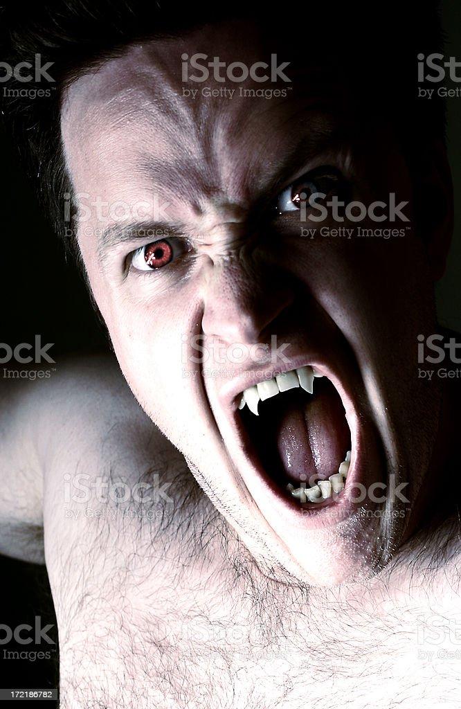 Vampire royalty-free stock photo