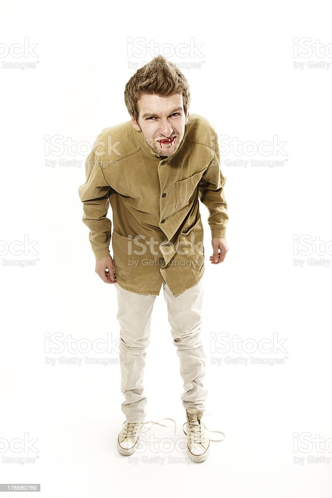 vampire punk royalty-free stock photo