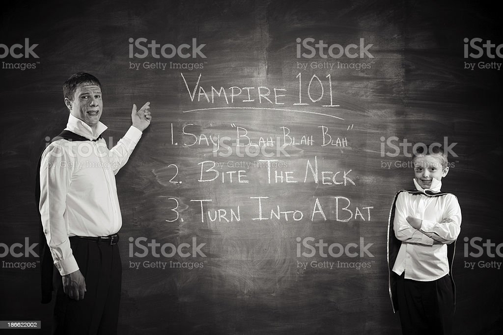 Vampires royalty-free stock photo