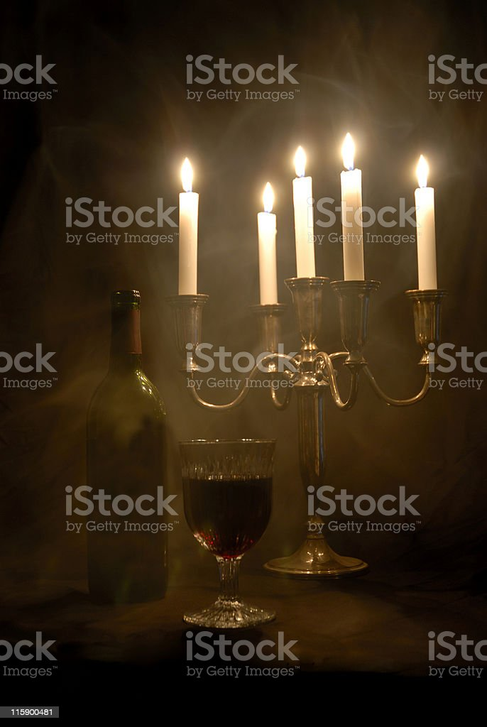 Vampire's Wine royalty-free stock photo