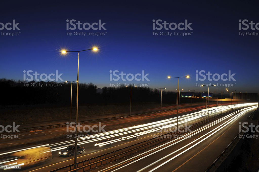 Van Out in Front royalty-free stock photo