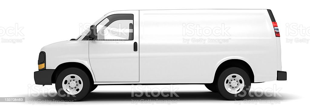 van stock photo