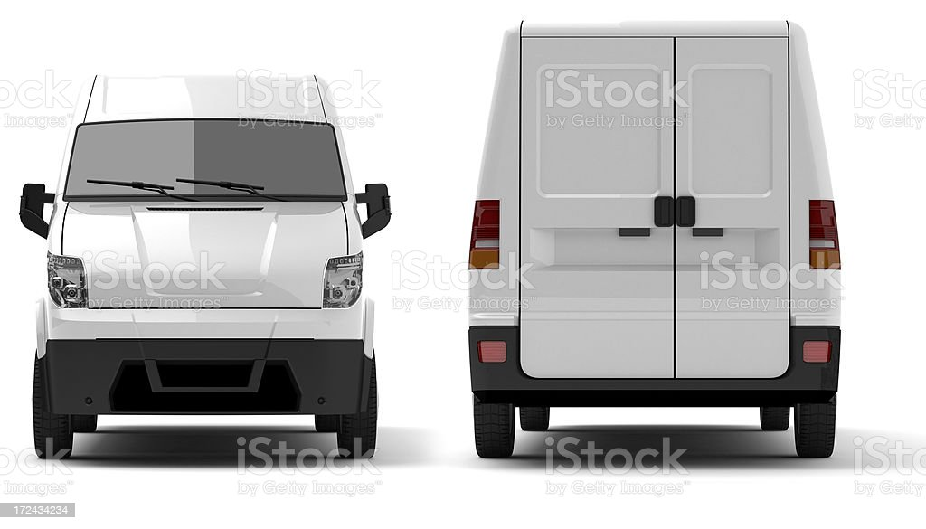 Van royalty-free stock photo