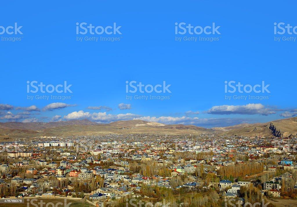 Van, Turkey. stock photo