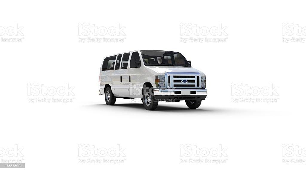 Van - Vehicle stock photo