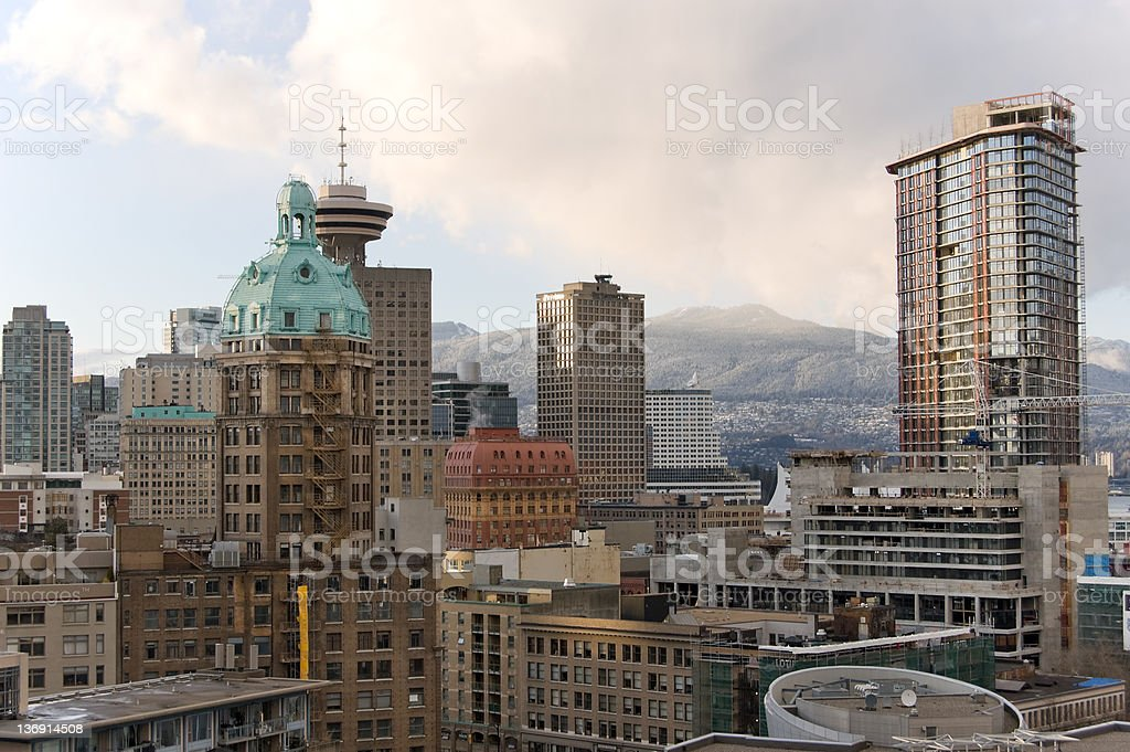 Vancouver, BC, Canada stock photo