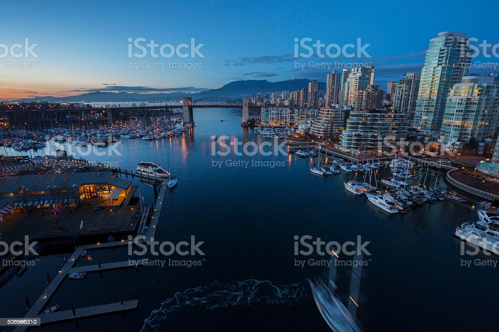 Vancouver BC stock photo