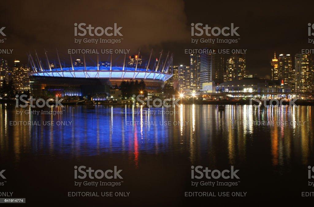 Vancouver BC Place Stadium stock photo