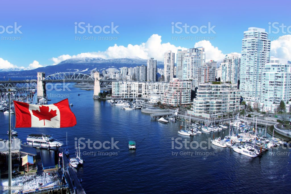 Vancouver Canada stock photo