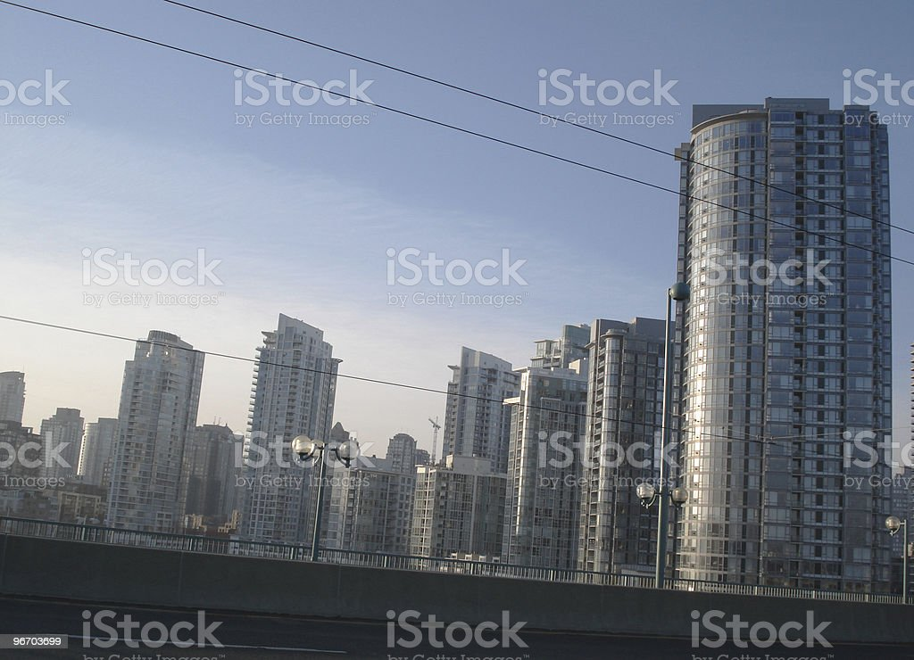 Vancouver - City Rising royalty-free stock photo