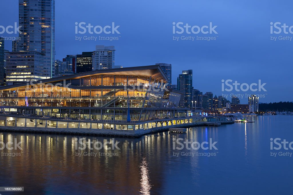 Vancouver Convention Center royalty-free stock photo
