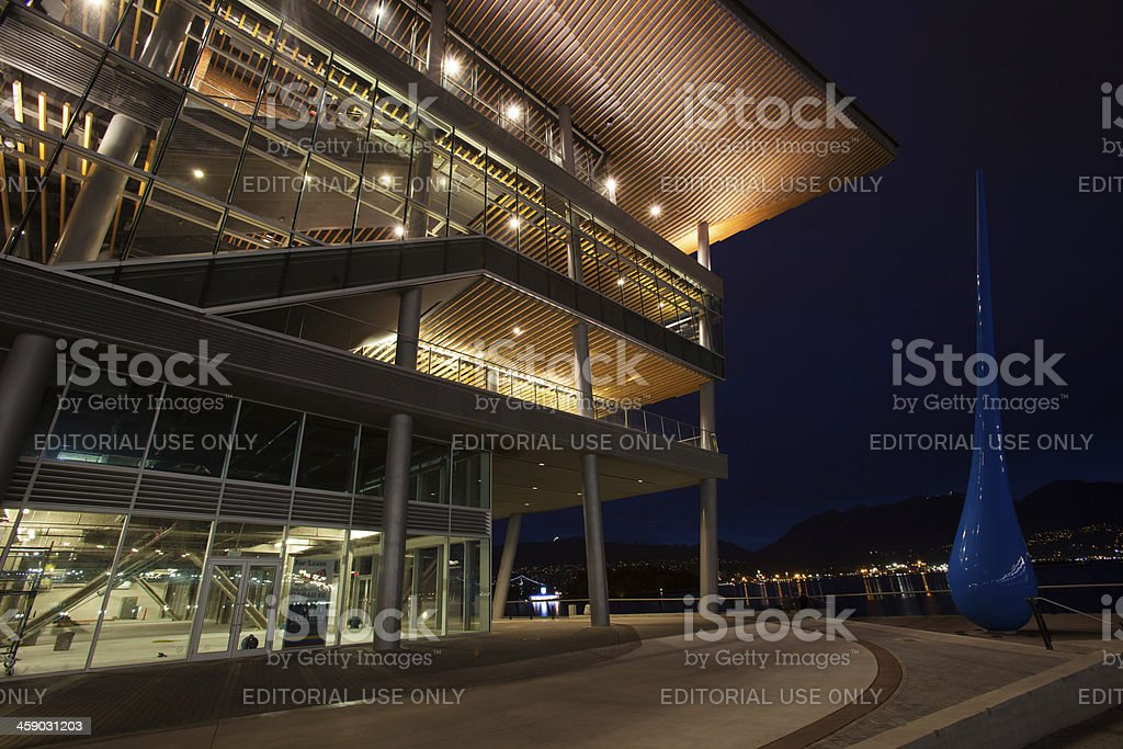Vancouver Convention Center stock photo