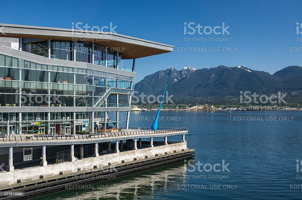 Vancouver Convention Centre stock photo