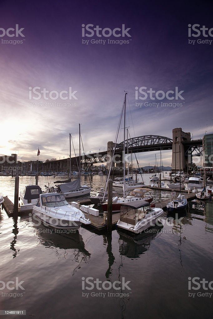 Vancouver - False Creek royalty-free stock photo