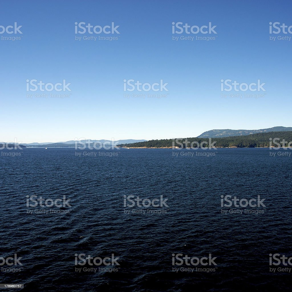 Vancouver Ferry royalty-free stock photo