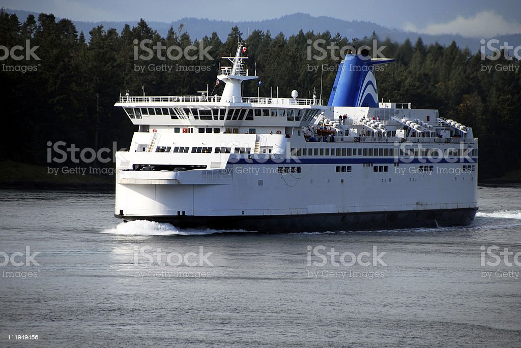 Vancouver Ferry To Victoria British Columbia Canada stock photo