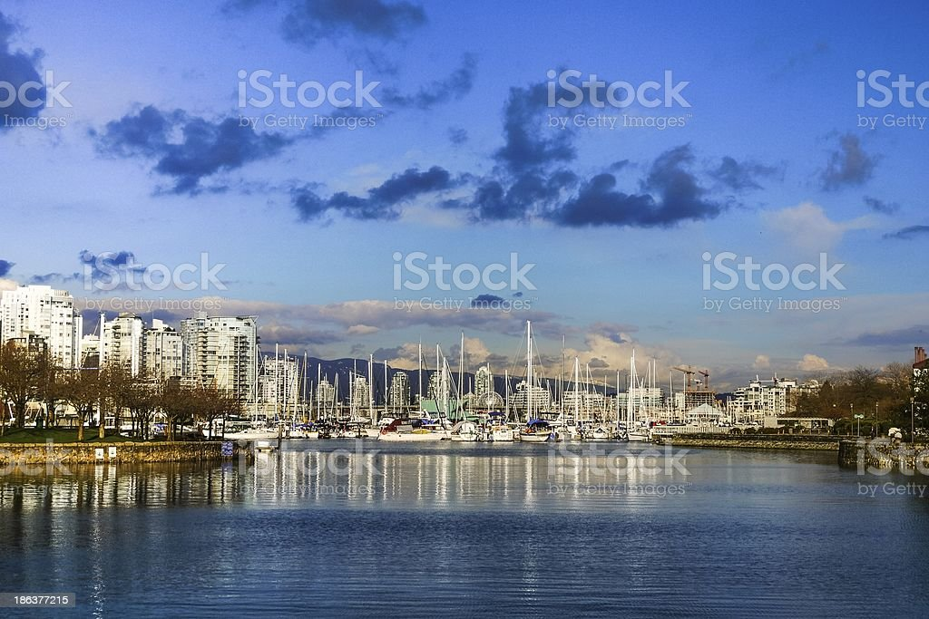 Vancouver Harbour royalty-free stock photo