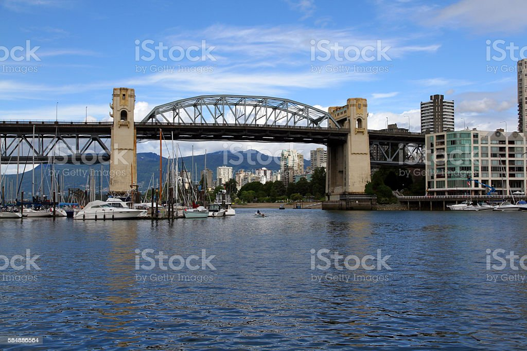 Vancouver Morning stock photo
