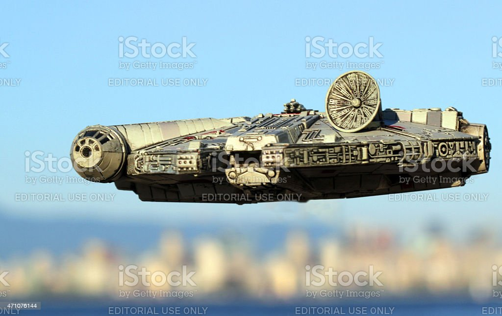 Vancouver Overflight stock photo