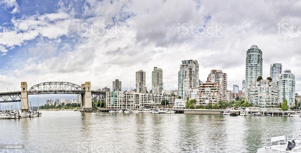 Vancouver Panorama royalty-free stock photo